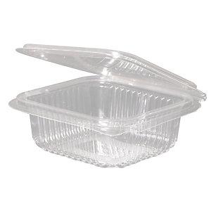 ILIP Contenitore gastronomia in PLA Linea IlipBio, Compostabile, 12,6 x 11,7 x 4,3 cm, Capacità 250 ml, Trasparente (confezione 700 pezzi)