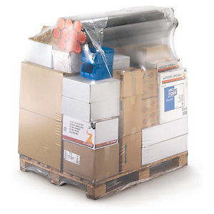 Palletising, individual shrink wrap pallet covers
