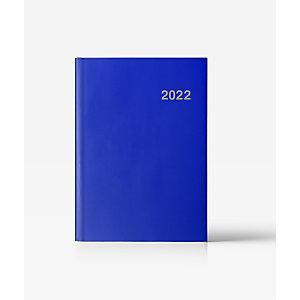 INGRAF Acuario-París Agenda día-página 2022, 150 x 210 mm, castellano, azul