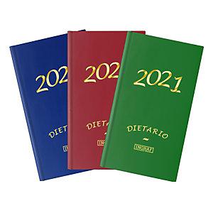 INGRAF Geltex Dietario 2021, 150 x 220 mm, castellano, colores surtidos
