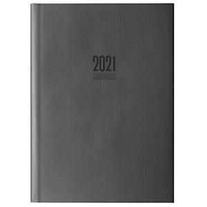 INGRAF Seúl Agenda día-página 2021, 170 x 240 mm, euskera, negro