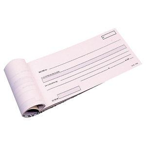 INGRAF Talonario preimpreso en castellano para recibos 210 x 90 mm con copia 50 x 2