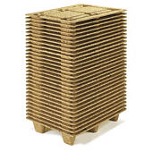 Inka mini-houtvezelpallet