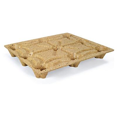 Palette moulée bois format standard INKA##Inka Paletten