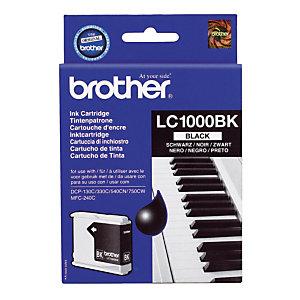Inktcartridge Brother LC1000BK zwart voor inkjet printers