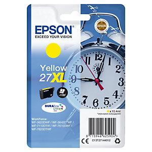 Inktcartridge Epson 27 XL J « Wekker » geel voor inkjet printers