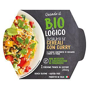 Insalata di Cereali con Curry Quando il Bio è Logico, 250 g