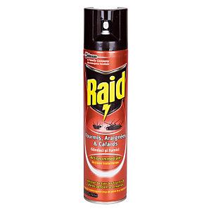 Insecticide Raid insectes rampants aérosol 400 ml