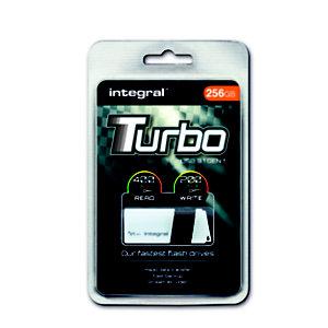 INTEGRAL MEMORY Turbo - Clé USB 3.0 - 256 Go - Blanc