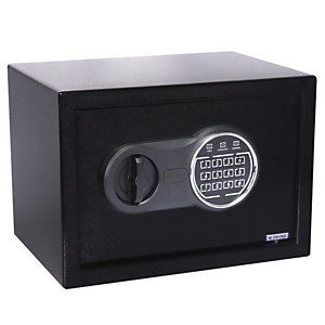 ITERNET Cassaforte di sicurezza con serratura elettronica 310ET - 310x200x200 mm - Iternet