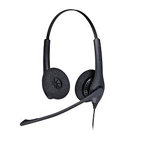 Jabra BIZ 1500 Duo USB, Auriculares, Diadema, Oficina/Centro de llamadas, Negro, Binaural, 2,3 m 1559-0159