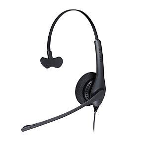 Jabra BIZ 1500 Mono USB, Centro de llamadas/Oficina, Diadema, Monoaural, Negro, CE, FCC, UL, cUL, EAC, RCM, KCC, RoHS, REACH, Alámbrico 1553-0159