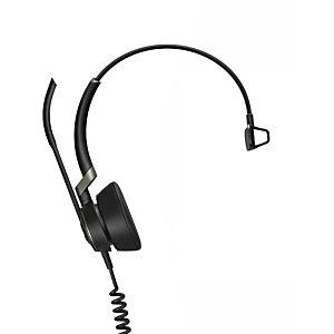 Jabra Engage 50 Mono, Centro de llamadas/Oficina, -10 - 40 °C, -20 - 50 °C, 53 mA, Diadema, Monoaural 5093-610-189