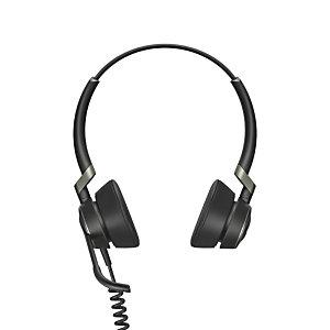 Jabra Engage 50 Stereo, Centro de llamadas/Oficina, -10 - 40 °C, -20 - 50 °C, 58 mA, Diadema, Binaural 5099-610-189