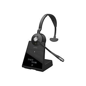 Jabra Engage 75 Mono - Casque sans fil professionnel + Station de recharge - Noir
