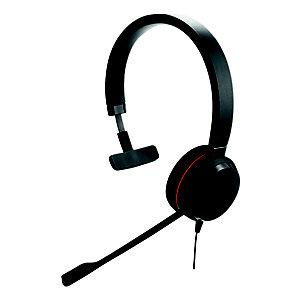 Jabra Evolve 20 UC Mono - Casque USB filaire - Noir