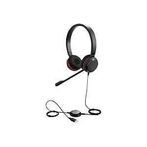 Jabra Evolve 30 II casque filaire mono / duo avec micro anti-bruit