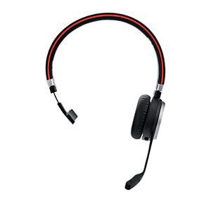Jabra Evolve 65 MS Mono - Casque sans fil Bluetooth + Station de recharge - Noir