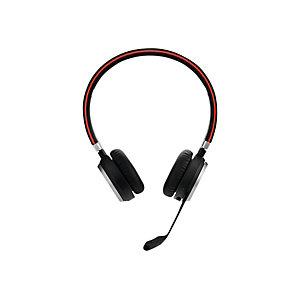 Jabra Evolve 65 MS Stéréo - Casque sans fil Bluetooth + Station de recharge - Noir