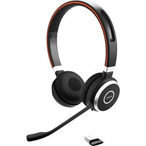 Jabra Evolve 65 MS Stéréo - Casque sans fil Bluetooth - Noir