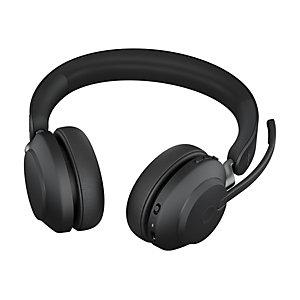 Jabra Evolve2 65 - Casque sans fil - 2 écouteurs - Micro anti-bruit - Noir