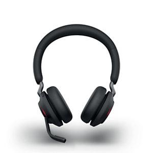 Jabra Evolve2 65 MS Stéréo - Casque sans fil Bluetooth - Noir