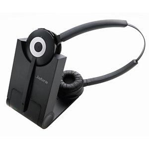 Jabra Pro 920 Duo - Casque sans fil - Noir