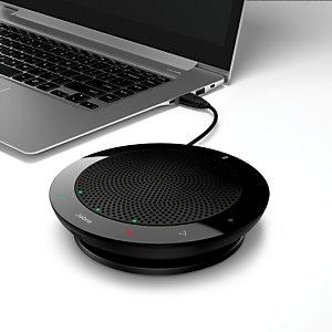 Jabra Speak 410 MS - Micro et haut-parleur USB pour audio conférence - Noir