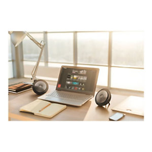 Jabra Speak 710 UC, Universal, Negro, Plata, Portable, 30 m, 70 dB, 1 m 7710-409