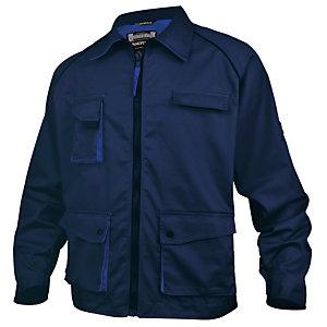 Jas Premium  marineblauw/koningsblauw maat 2