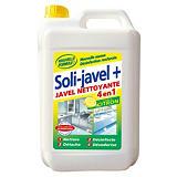 Javel nettoyante 4 en 1 Soli-javel+ Solipro citron 5 L