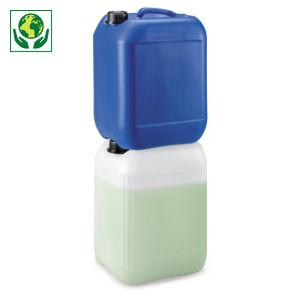 Jerrican plastique transparent ou opaque