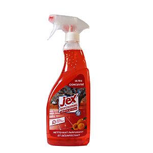 Jex Professionnel Triple action Nettoyant multi-usages désinfectant Verger de Provence - Vaporisateur 750 ml