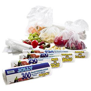 Jolly Sacchetti per congelare e conservare alimenti, 18 x 28 cm, Trasparenti (confezione 300 pezzi)