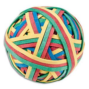 JPC Balle 200 élastiques 4 couleurs assorties