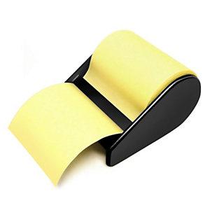 JPC Dévidoir avec notes repositionnables, 60 mm x 10m, jaune