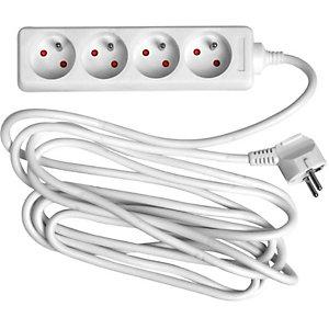 JPC WONDAY Bloc multiprises électriques 4 prises électriques 4m GAE100462