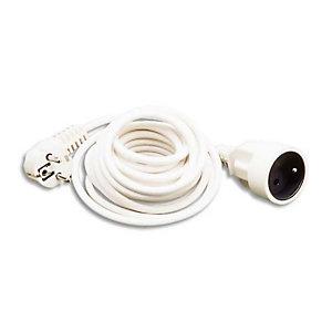 JPC WONDAY Rallonge électrique lisse 3m Blanc GAE300062