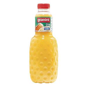 Jus de fruits Granini Nectar d'orange, en bouteille, lot de 6 x 1 L