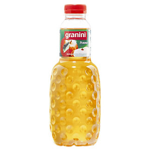 Jus de fruits Granini Pomme, en bouteille, lot de 6 x 1 L