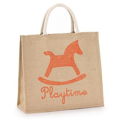 Jute custom printed bags