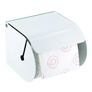 JVD Distributeur de papier toilette en rouleaux Classic blanc