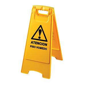 """JVD Señal trípode """"Atención piso húmedo"""""""