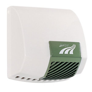 JVD Zephyr Asciugamani automatico 2.100 W 190 m3/h Bianco e Verde