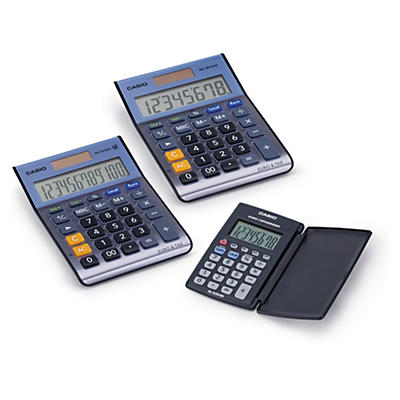 Calculatrices de bureau CASIO##Kantoorrekenmachines CASIO