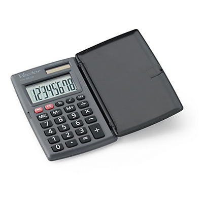 Kapesní kalkulačka s uzavíratelným pozdrem