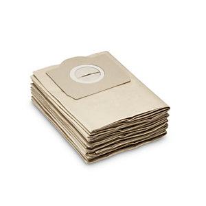 Kärcher Sacs filtre papier pour aspirateur WD3 - 17 litres