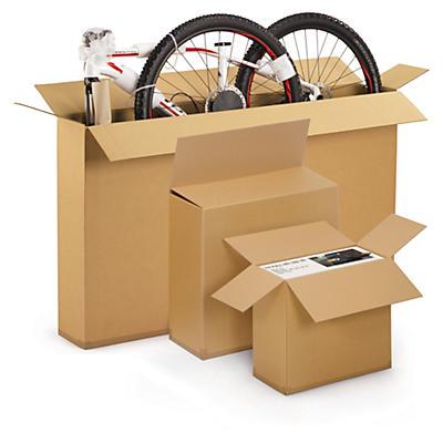 Caisse carton pour produits plats et hauts##Karton für grosse, flache Produkte