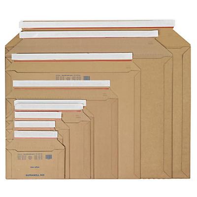 Kartonkuvert med åbning på langsiden - Suprawell
