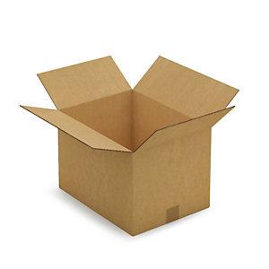Kartonnen doos in dubbelgolf 40x30x27 cm